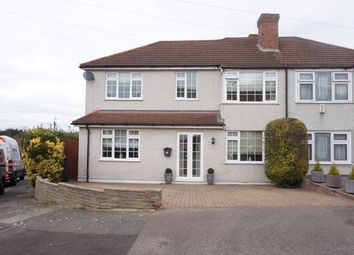 Thumbnail 4 bed semi-detached house for sale in Swaisland Road, Dartford