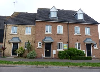 Thumbnail 3 bedroom town house for sale in Campaign Avenue, Peterborough