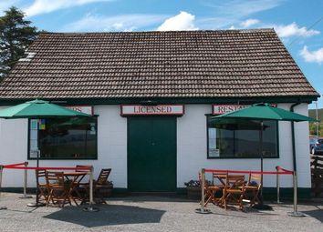 Thumbnail Restaurant/cafe for sale in Creelers Restaurant, Broadford, Skye