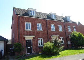 Thumbnail 3 bed terraced house for sale in Winterton Close, Stamford