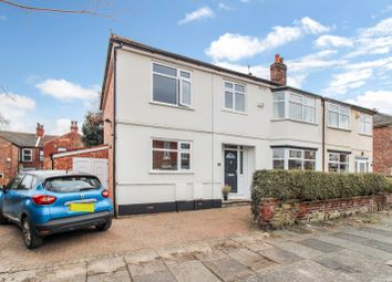Hartley Road, Chorlton Cum Hardy, Manchester M21. 4 bed semi-detached house for sale