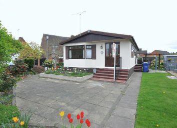 Thumbnail 2 bedroom detached bungalow for sale in Riverside Park, Wetmore Lane, Burton-On-Trent