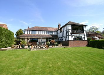 Thumbnail 4 bed detached house for sale in Holly Hill Lane, Sarisbury Green, Hampshire