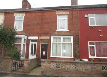 Thumbnail 3 bed terraced house to rent in Burke Street, Scunthorpe