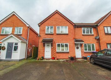 Thumbnail 3 bed end terrace house for sale in Abbey Road, Cwmbran, Torfaen