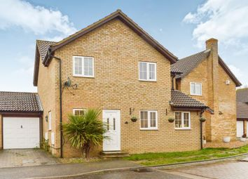 Thumbnail 4 bedroom link-detached house for sale in Chevalier Grove, Crownhill, Milton Keynes