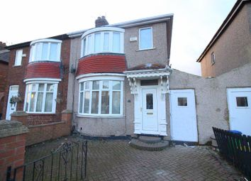 Thumbnail 2 bed semi-detached house for sale in Lanethorpe Crescent, Darlington