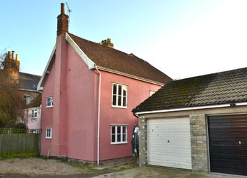 Thumbnail 3 bedroom semi-detached house for sale in Church Close, Pulham St. Mary, Diss