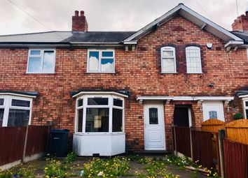 Thumbnail 2 bed terraced house to rent in Peckham Road, Kingstanding, Birmingham