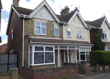 Thumbnail 3 bed semi-detached house for sale in Fletton Avenue, Fletton, Peterborough, Cambridgeshire