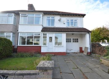 Thumbnail 5 bed semi-detached house for sale in Ingleholme Road, Mossley Hill, Liverpool
