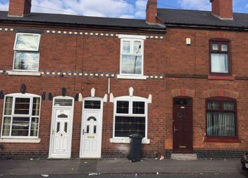 Thumbnail 2 bed terraced house to rent in Lewis Street, Walsall, West Midlands
