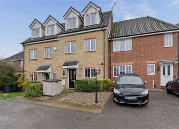 Thumbnail 3 bed town house for sale in Guernsey Way, Ashford, Kent