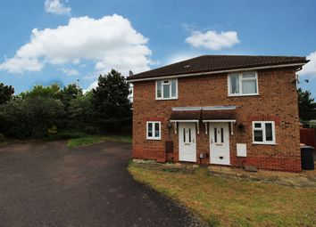 Thumbnail 2 bed semi-detached house for sale in Buttercup Close, Bedford