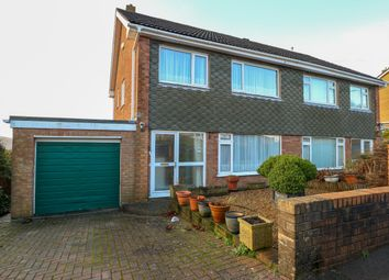 Thumbnail 3 bed semi-detached house for sale in Gwaunfarren Close, Penydarren, Merthyr Tydfil