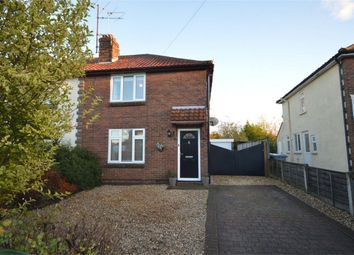 Thumbnail 3 bed semi-detached house for sale in Cromwell Road, Sprowston, Norwich