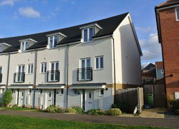 Thumbnail 3 bed end terrace house for sale in Top Fair Furlong, Redhouse Park, Milton Keynes