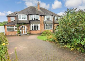 Thumbnail 4 bed semi-detached house for sale in Wroxall Road, Solihull