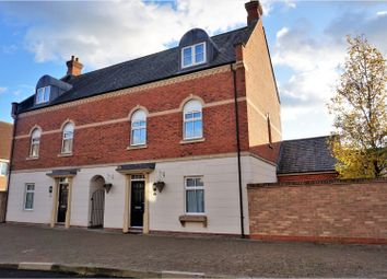 Thumbnail 4 bed semi-detached house for sale in Holne Road, Swindon