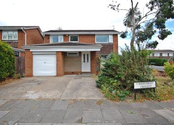 Thumbnail 4 bed detached house for sale in Hamsterley Crescent, Newton Hall, Durham