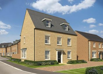 "Thumbnail 5 bed detached house for sale in ""Emerson"" at Popes Piece, Burford Road, Witney"
