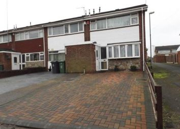 Thumbnail 3 bedroom end terrace house for sale in Birmingham Street, Willenhall, West Midlands