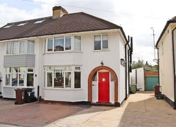 Thumbnail 3 bed semi-detached house for sale in Edward Close, St.Albans