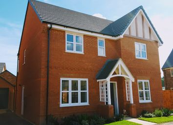 Thumbnail 4 bed detached house for sale in Boughton, Northampton