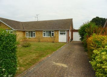Thumbnail 3 bed semi-detached bungalow to rent in Drewery Drive, Rainham, Gillingham, Kent.