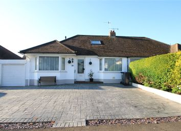 Thumbnail 3 bedroom bungalow for sale in Monks Avenue, Lancing, West Sussex