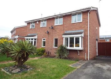 Thumbnail 3 bedroom semi-detached house for sale in Swallowdale Drive, Anstey Heights, Leicester, Leicestershire