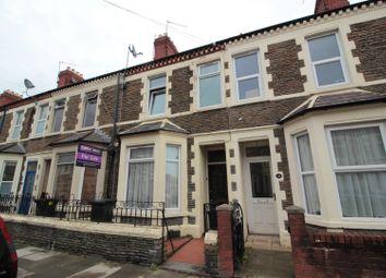 Thumbnail 3 bed terraced house for sale in Arabella Street, Roath