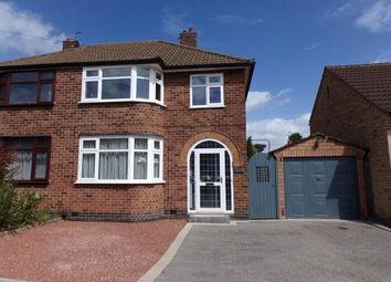 3 bed semi-detached house for sale in Kingsgate Avenue, Birstall, Leicester, Leicestershire LE4