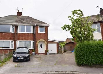 Thumbnail 3 bed semi-detached house for sale in Meadowcroft Avenue, Catterall, Preston