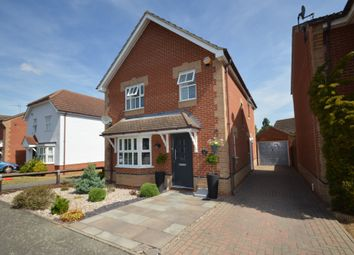 Thumbnail 4 bed detached house for sale in Brimstone Road, Pinewood, Ipswich