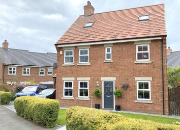 Thumbnail 6 bed detached house for sale in Freemans Way, Thirsk