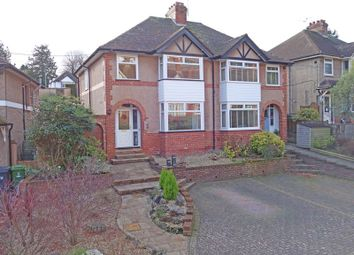 Thumbnail 3 bed semi-detached house for sale in Peaslands Road, Sidmouth
