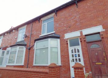 Thumbnail 3 bed terraced house to rent in Parkdale Avenue, Gorton, Manchester