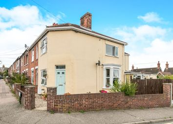 Thumbnail 3 bed end terrace house for sale in Weston Road, Colchester