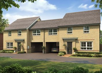 "Thumbnail 4 bed semi-detached house for sale in ""Cheltenham"" at The Ridge, London Road, Hampton Vale, Peterborough"