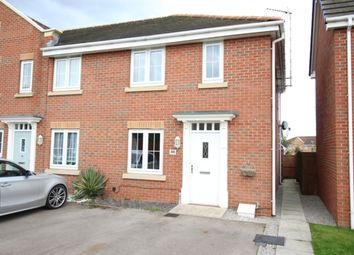 Thumbnail 3 bed town house for sale in Roundhouse Crescent, Worksop