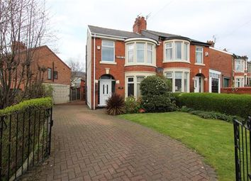 Thumbnail 3 bed semi-detached house for sale in Hartford Avenue, Blackpool