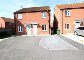 Thumbnail 2 bed semi-detached house to rent in Cedar Way, Selby