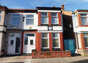 Thumbnail 3 bed semi-detached house for sale in Browning Road, Wallasey
