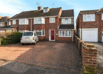 Thumbnail 5 bedroom semi-detached house for sale in Glendevon Road, Woodley, Reading