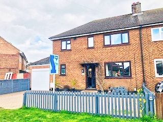 Thumbnail 4 bed semi-detached house for sale in Rowan Crescent, Biggleswade
