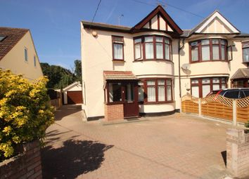 Thumbnail 3 bed semi-detached house for sale in Hadleigh Park Avenue, Benfleet