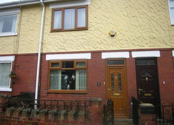 Thumbnail 2 bed terraced house to rent in Queens Road, Askern, Doncaster