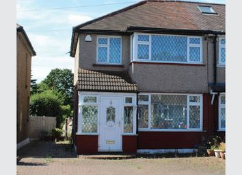 Thumbnail 3 bed semi-detached house for sale in Waltham Avenue, Hayes