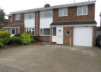 Thumbnail 4 bed semi-detached house for sale in Falcutt Way, Kingsthorpe, Northampton